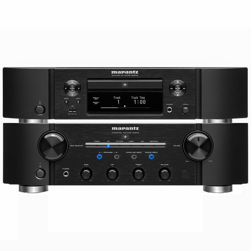 Hi-Fi Комплект Marantz PM8006 + ND8006 Black