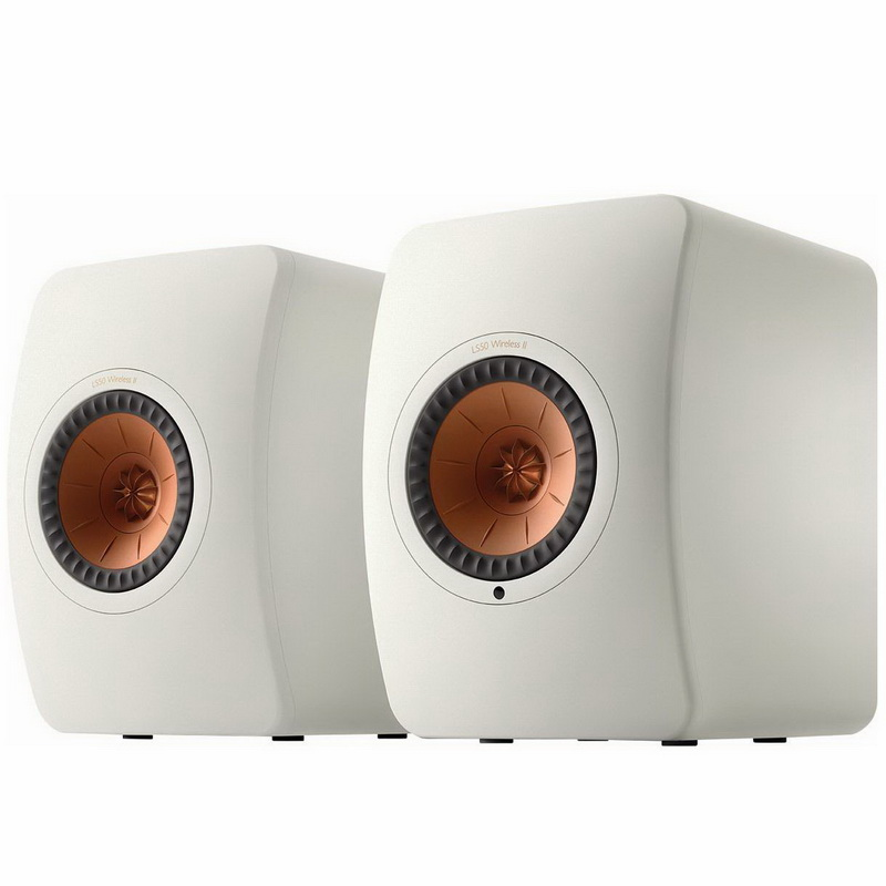 KEF LS50 Wireless II Mineral White