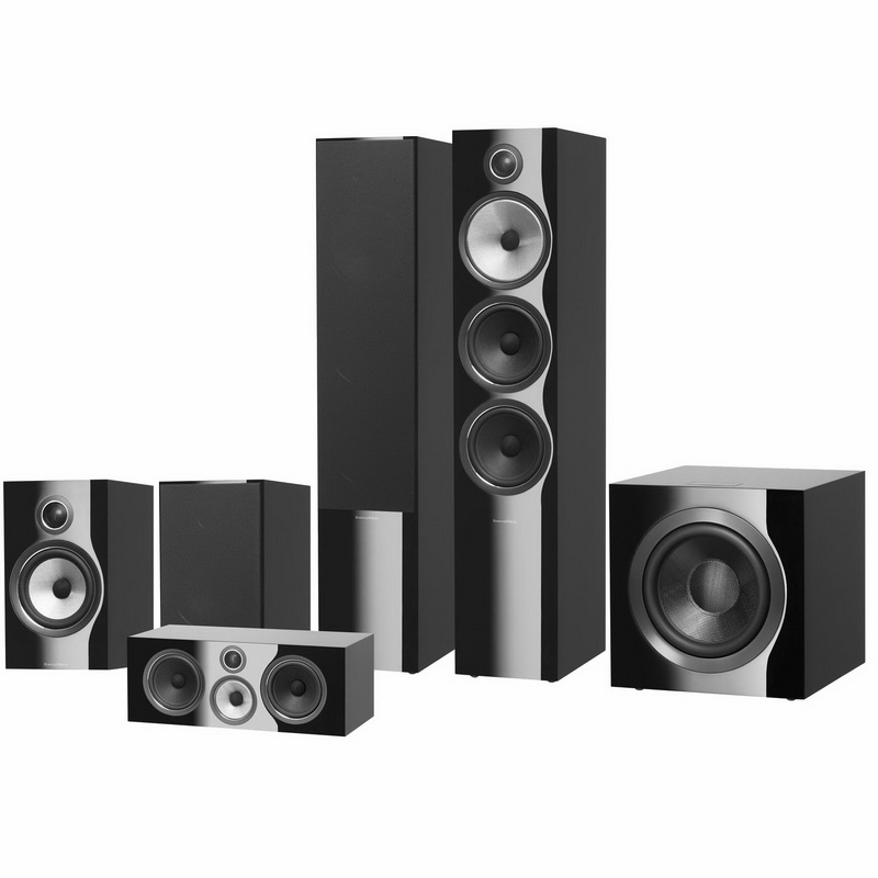 Комплект акустики Bowers & Wilkins 703 S2 Theatre Gloss Black