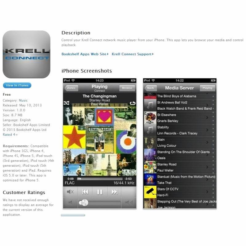 Krell Vanguard Digital купить в интернет магазине
